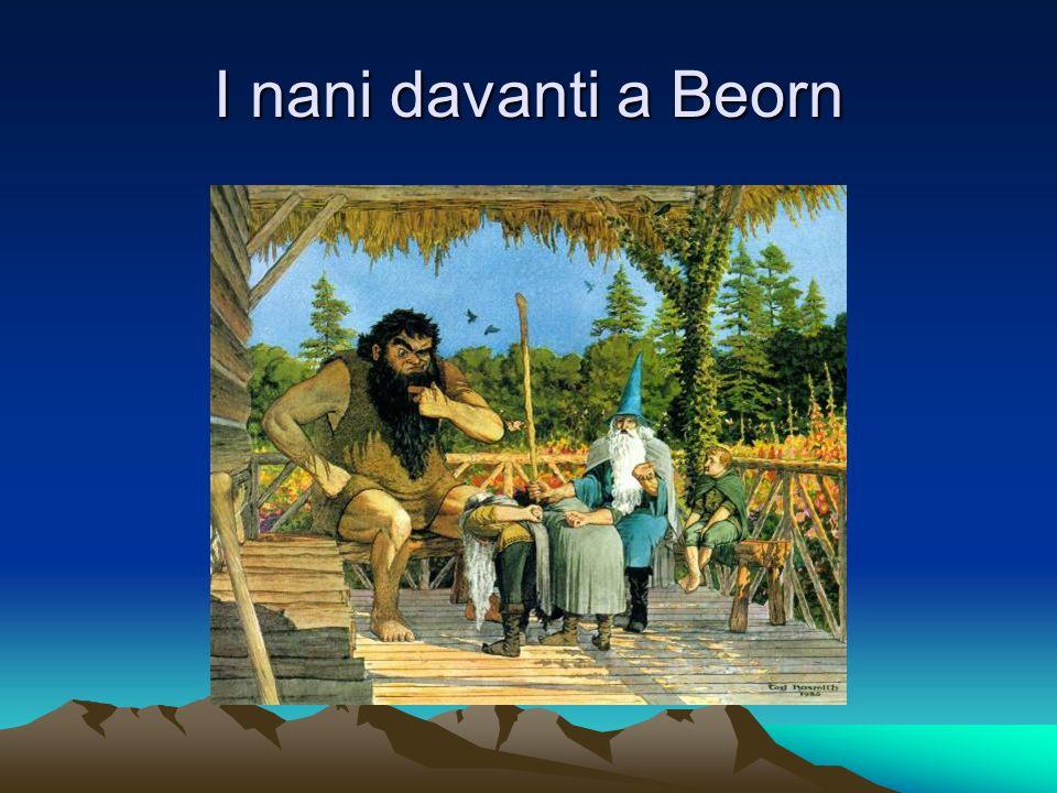 I nani davanti a Beorn