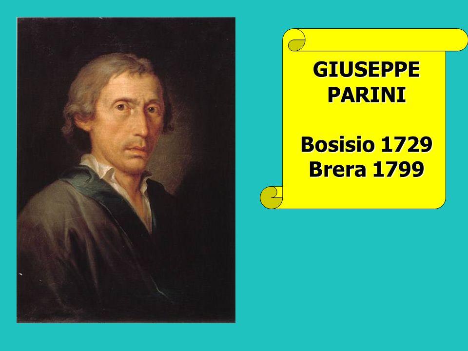 GIUSEPPE PARINI Bosisio 1729 Brera 1799