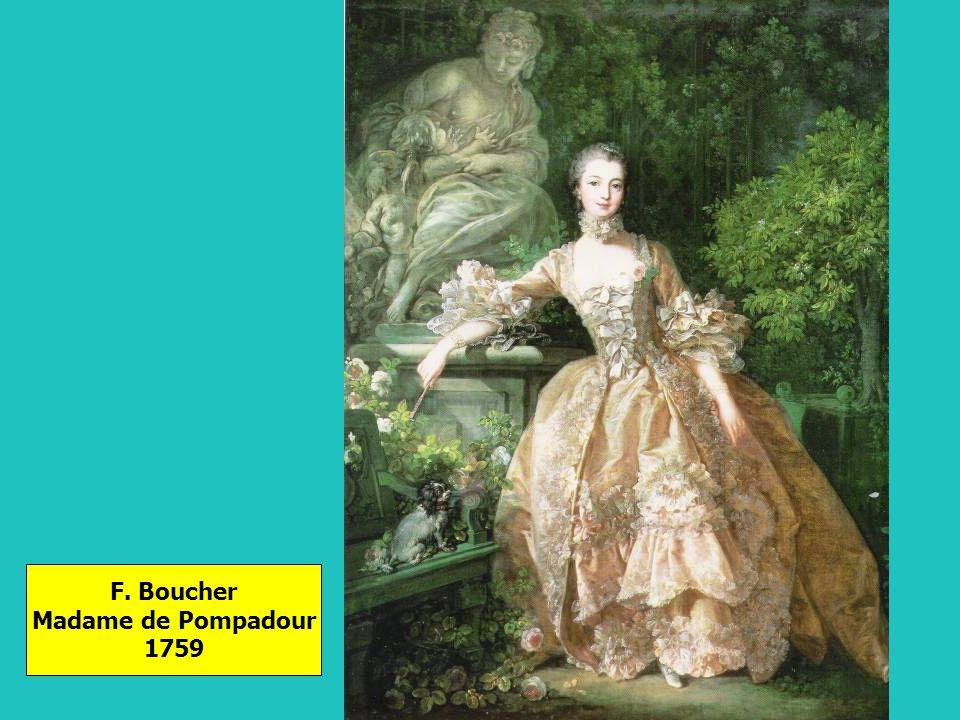 F. Boucher Madame de Pompadour 1759
