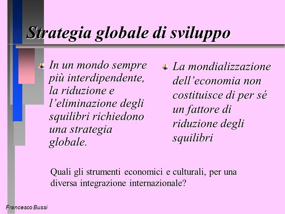 Francesco Bussi Non si tratta di sostenere lidea che oggi funzioni un mercato sostanzialmente libero - ma alla cui libertà bisognerebbe porre dei limiti in vista di obiettivi umanitari.