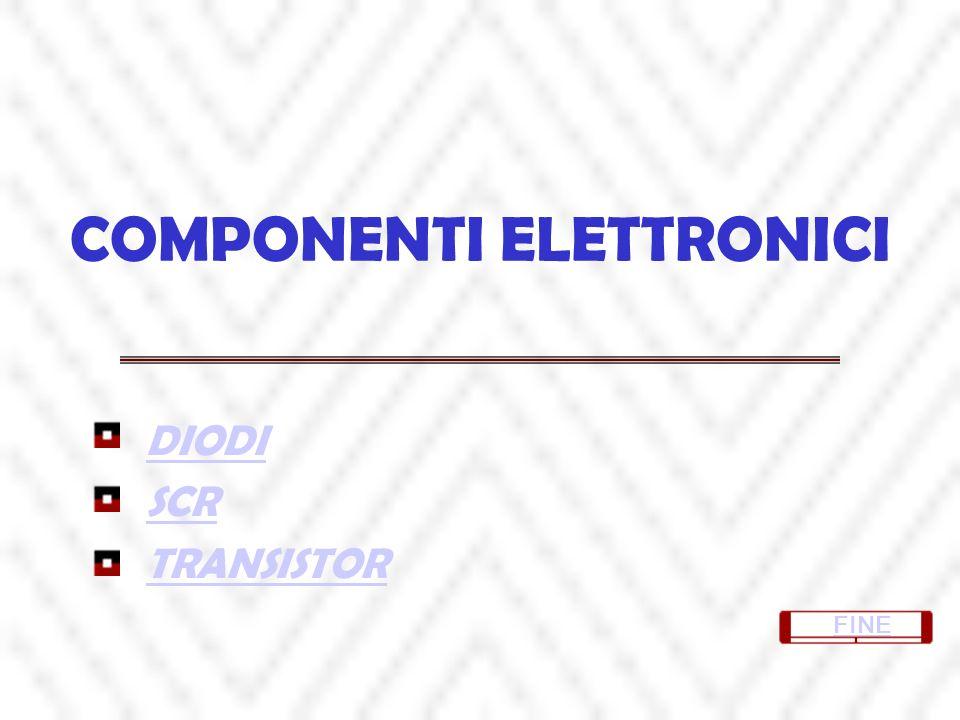 COMPONENTI ELETTRONICI DIODI SCR TRANSISTOR FINE