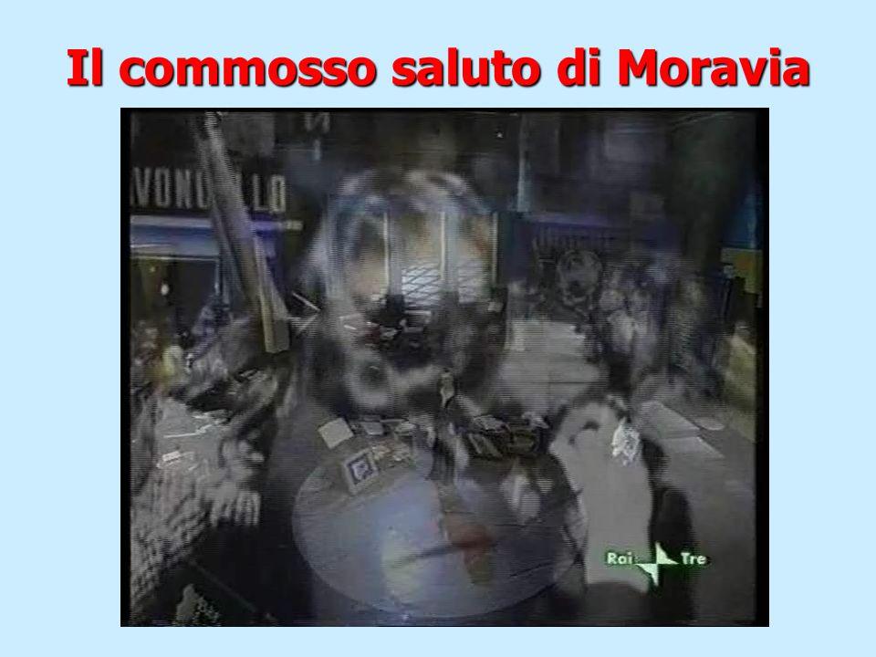 Il commosso saluto di Moravia