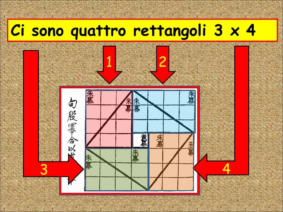 Larea del quadrato è 25 quadretti 12:2=6666 1 Il lato misura 5 quadretti !!