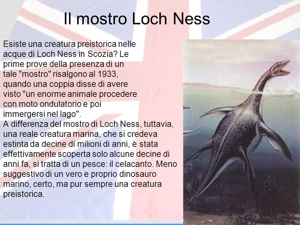 Il mostro Loch Ness Esiste una creatura preistorica nelle acque di Loch Ness in Scozia? Le prime prove della presenza di un tale