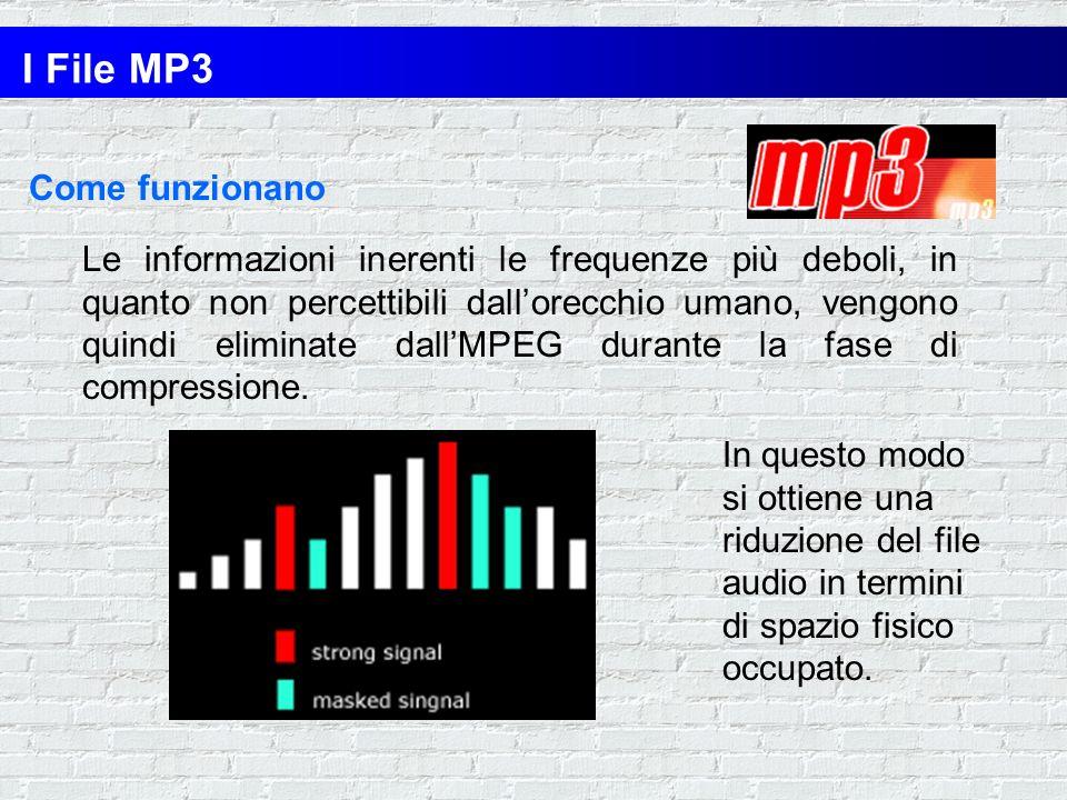 LMPEG elimina dai file audio determinate informazioni che non sono necessarie, basandosi su alcune ricerche della psicoacustica. Questi studi rivelano