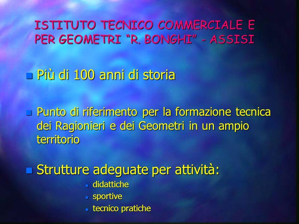 ISTITUTO TECNICO COMMERCIALE E PER GEOMETRI «R. BONGHI» ASSISI Un cordiale benvenuto a tutti i Partecipanti