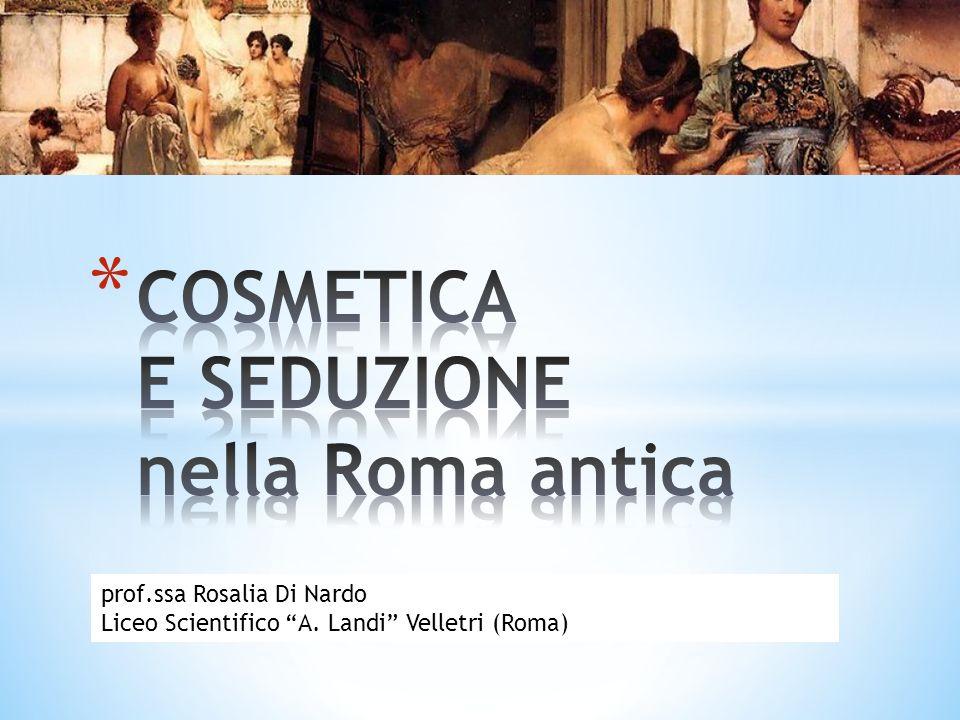 prof.ssa Rosalia Di Nardo Liceo Scientifico A. Landi Velletri (Roma)
