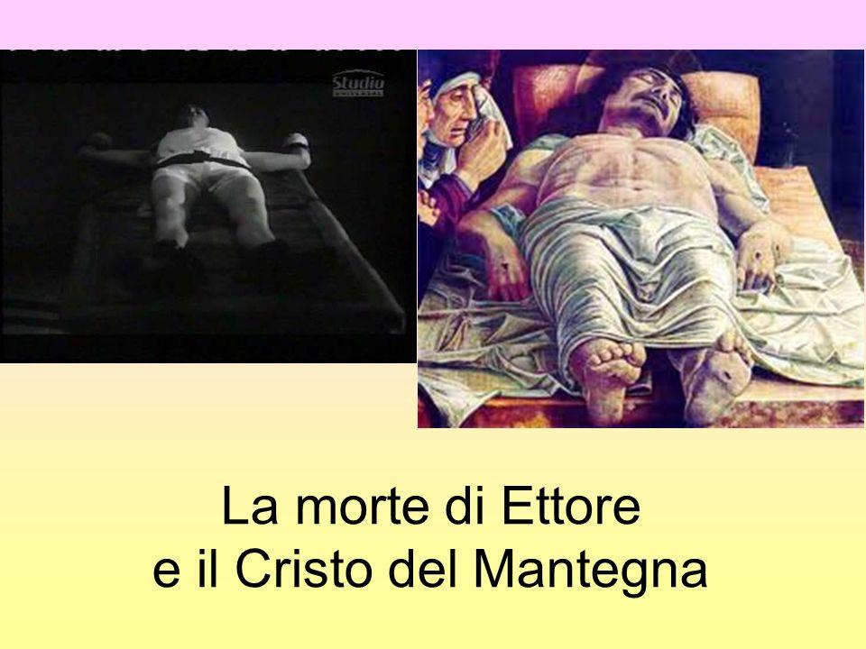 La morte di Ettore e il Cristo del Mantegna