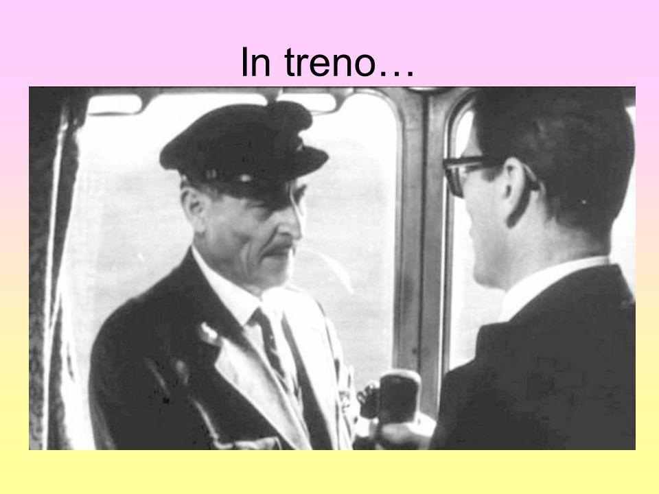 In treno…