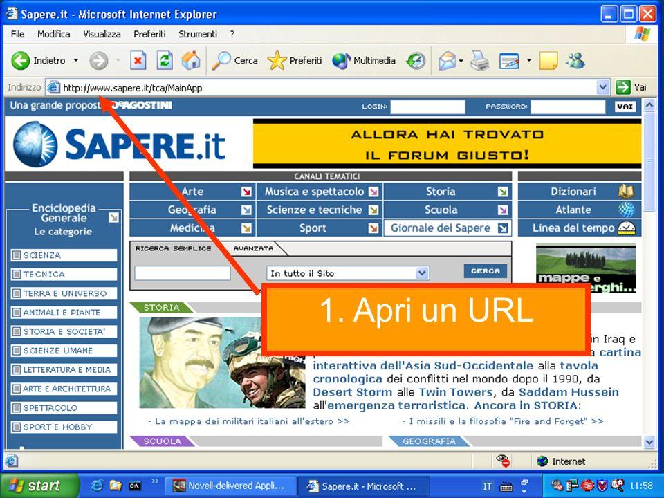 2a. Assegna un segnalibro / bookmark a una pagina web