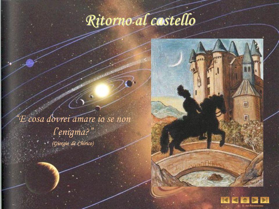 Ritorno al castello E cosa dovrei amare io se non l enigma? (Giorgio de Chirico)