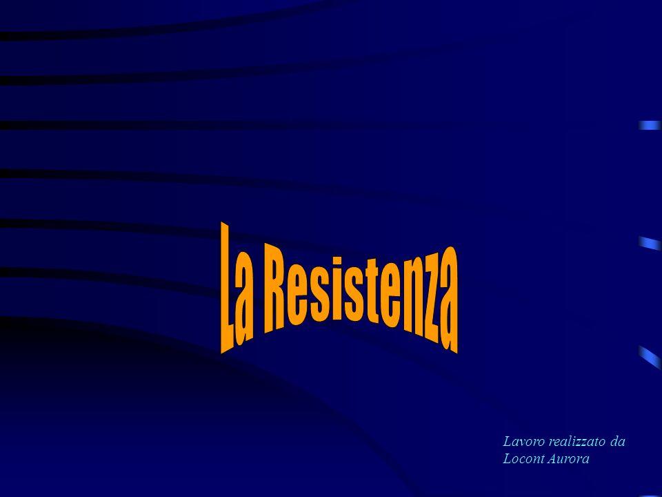 La Resistenza fu espressione di una volontà di riscatto dal fascismo e di difesa dellItalia dallaggressione tedesca e coinvolse complessivamente circa 300000 uomini molti dei quali persero la vita per un unico ideale: il bene della patria In una lettera un condannato a morte della Resistenza così scrive:
