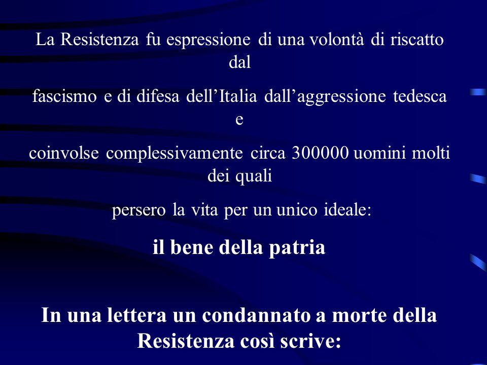 Torino, Carcere Giudiziario, Lunedì, 3 aprile, ore 22 Cara adorata Luisetta, sono calmo, estremamente calmo, non avrei mai creduto che si potesse guardare la morte con tanta calma, non indifferenza, che anzi mi dispiace molto morire, ma ripeto sono tranquillo.