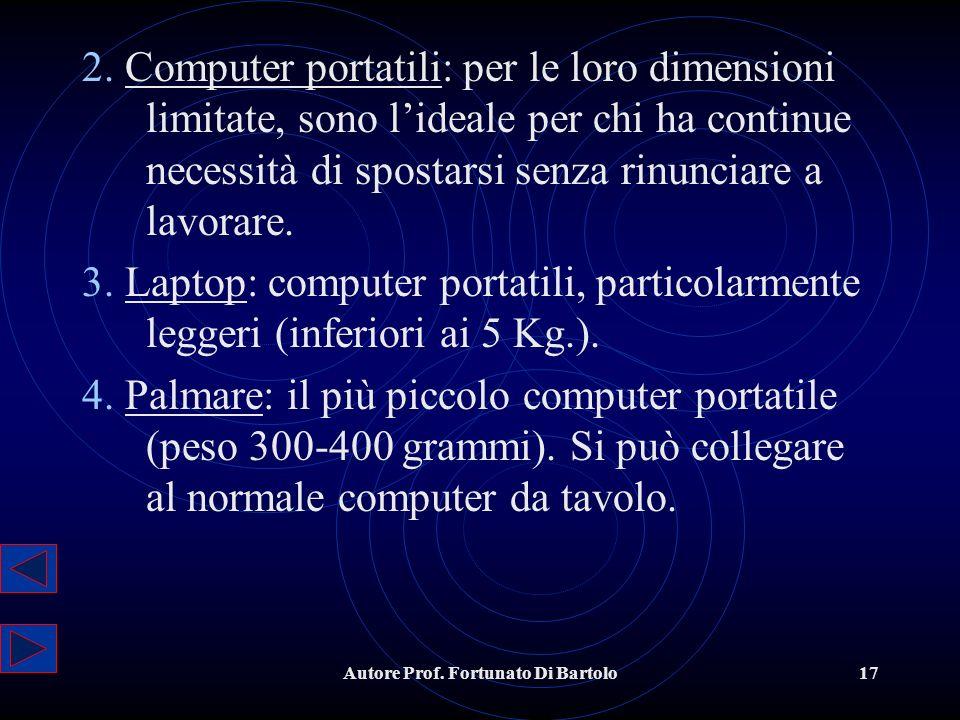 Autore Prof.Fortunato Di Bartolo17 2.