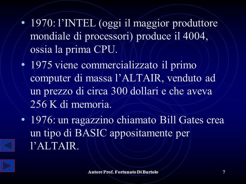 Autore Prof.Fortunato Di Bartolo18 5.