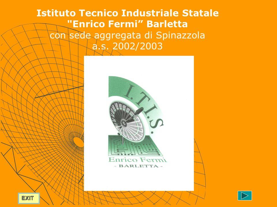 EXIT Istituto Tecnico Industriale Statale Enrico Fermi Barletta con sede aggregata di Spinazzola a.s.