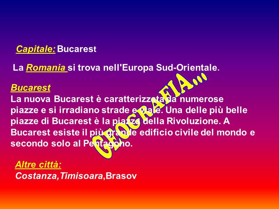 La Romania si trova nell Europa Sud-Orientale.