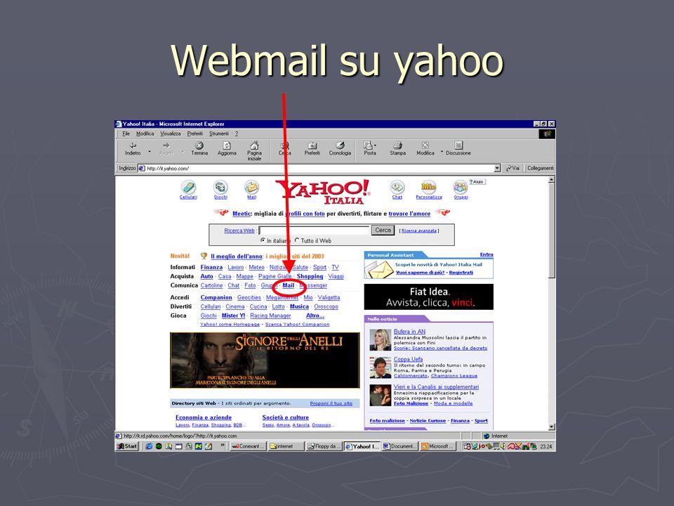 Webmail su yahoo