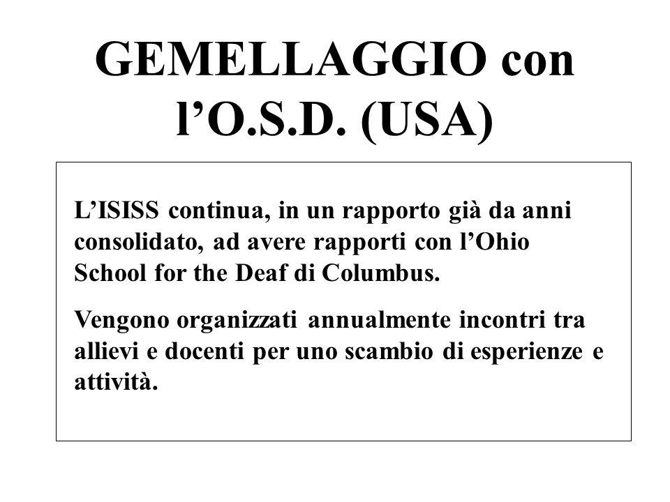 GEMELLAGGIO con lO.S.D.