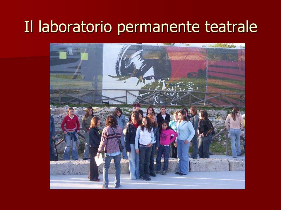 I laboratori per lampliamento dellofferta formativa Teatrale informatico giornalismo