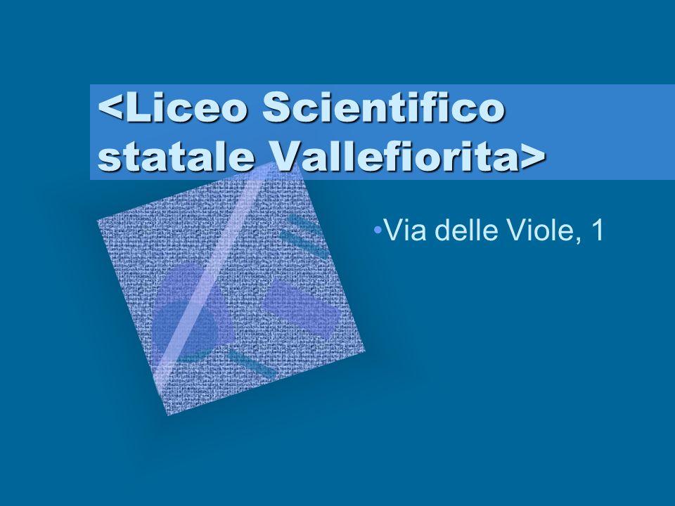 Laboratori, palestre e aule speciali Laboratori di Fisica, Chimica, Linguistico, di Informatica e Multimediale.