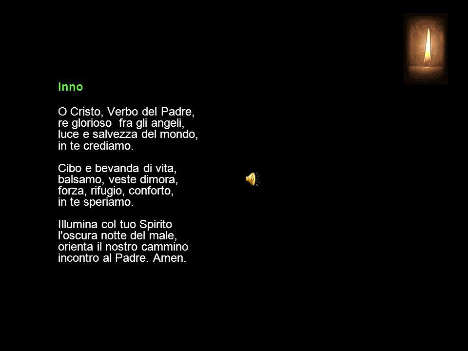 31 OTTOBRE 2013 GIOVEDÌ - XXX SETTIMANA DEL TEMPO ORDINARIO UFFICIO DELLE LETTURE INVITATORIO V. Signore, apri le mie labbra R. e la mia bocca proclam