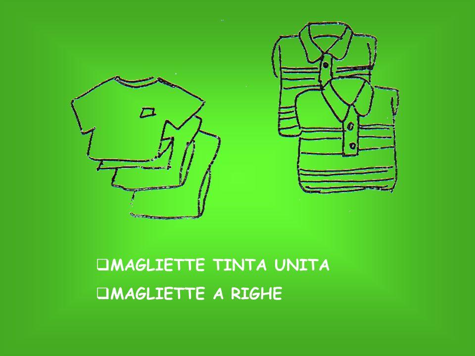 MAGLIETTE TINTA UNITA MAGLIETTE A RIGHE