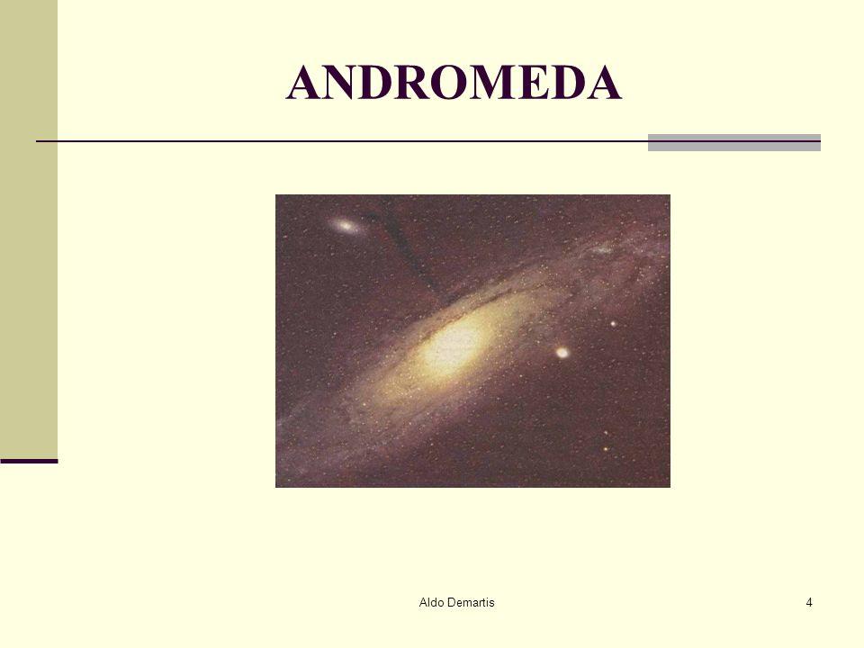 Aldo Demartis5 Gli astronomi ritengono che le galassie cambino forma invecchiando, proprio come avviene nelluomo.
