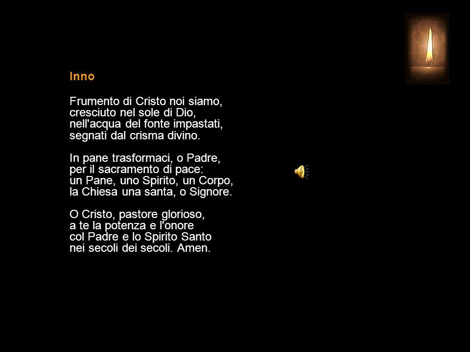 4 NOVEMBRE 2013 LUNEDÌ - XXXI SETTIMANA DEL TEMPO ORDINARIO SAN CARLO BORROMEO Vescovo UFFICIO DELLE LETTURE INVITATORIO V.