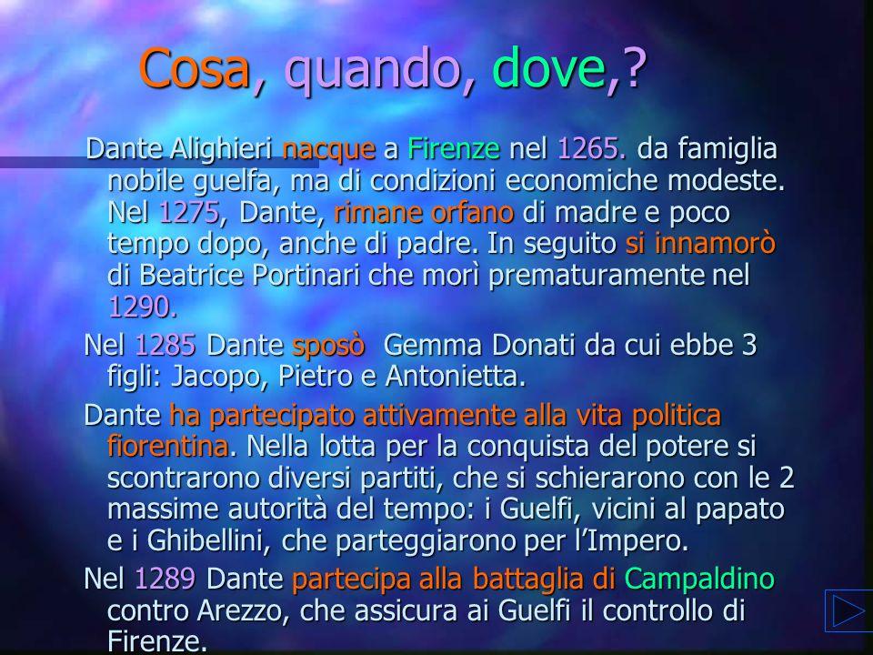 Un pettegolezzo.. ma non troppo.. su Dante e Beatrice Un pettegolezzo.. ma non troppo.. su Dante e Beatrice n Dante aveva un debole molto grande per B