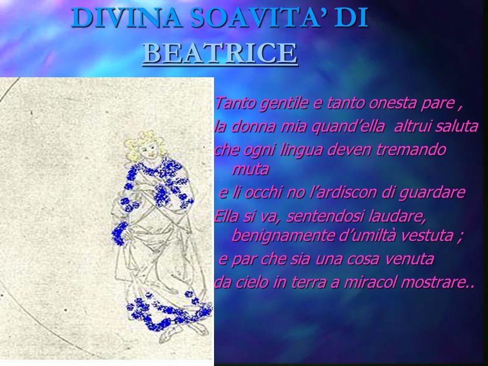 Amor ch al cor gentil ratto s apprende L amore si trasmette velocemente a un cuore gentile E Dante lo sa bene...