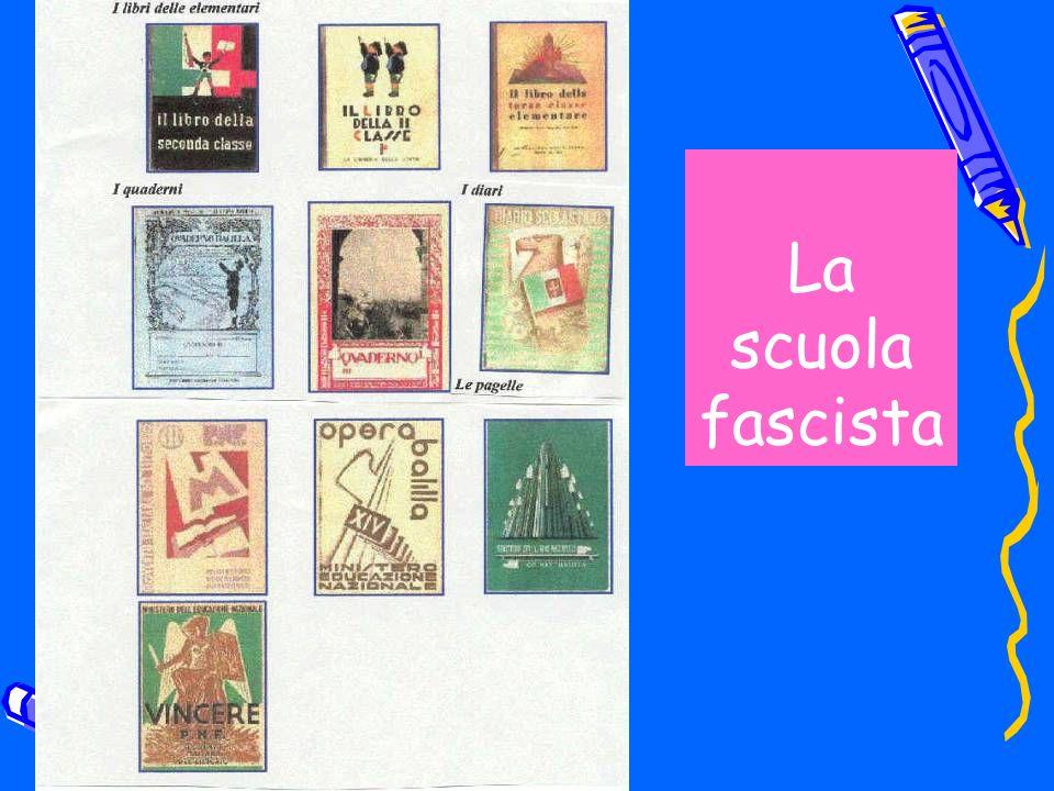 La scuola fascista