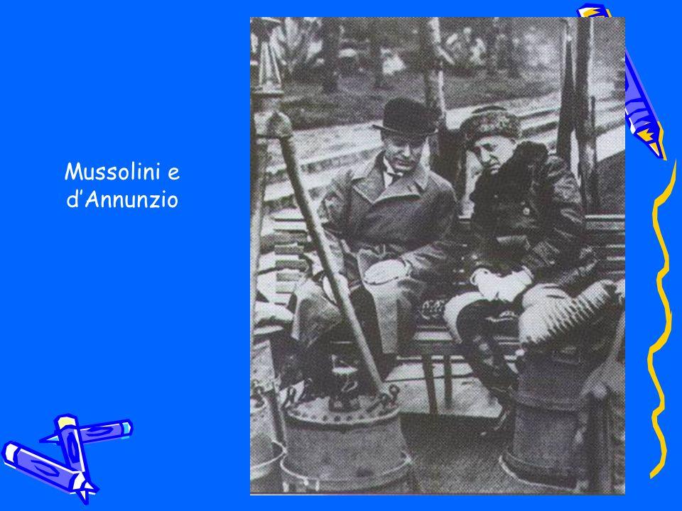 Mussolini e dAnnunzio