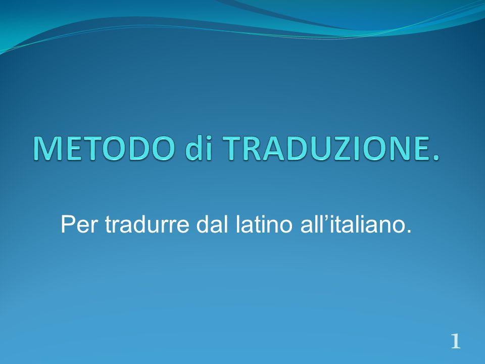 Per tradurre dal latino allitaliano. 1