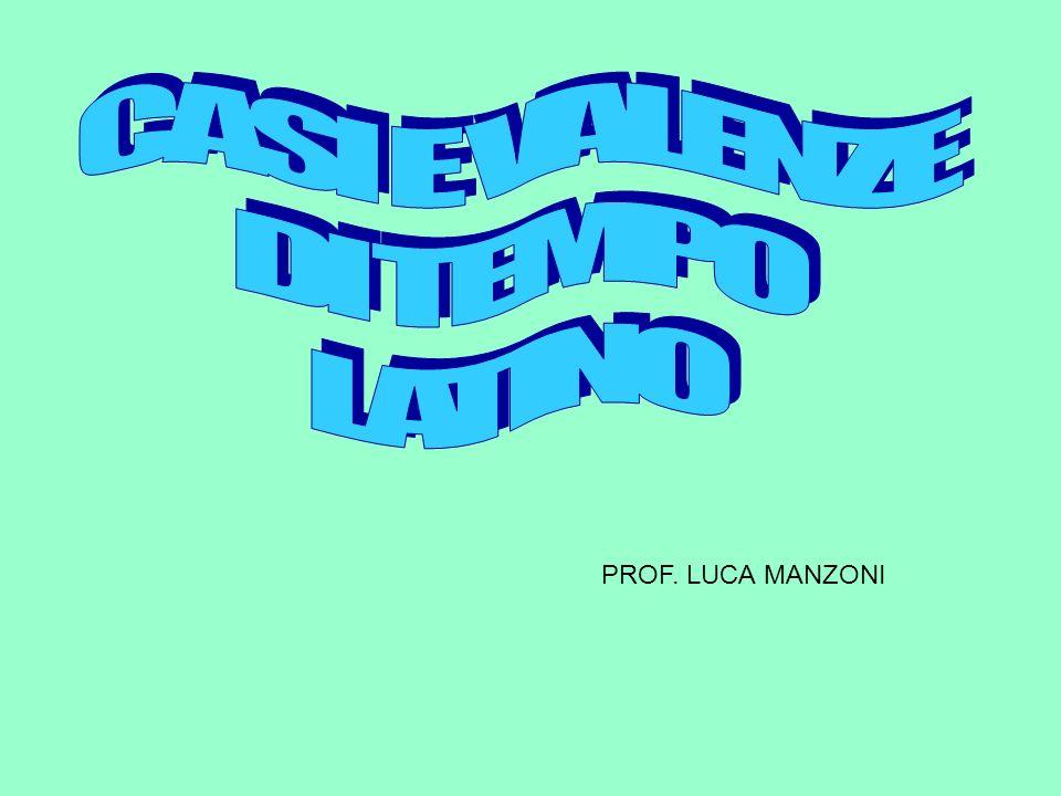 PROF. LUCA MANZONI