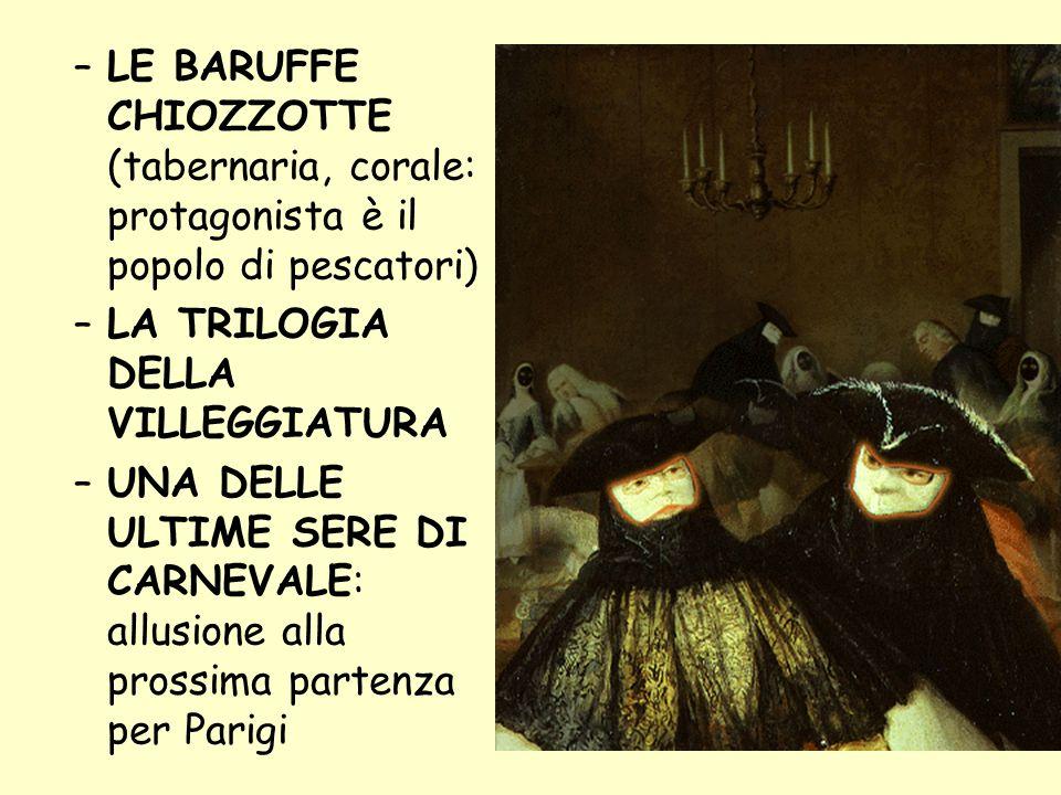 1762 a PARIGI lavora per la Comédie Italienne (scenari e canovacci per un teatro dominato dalla commedia dellarte)