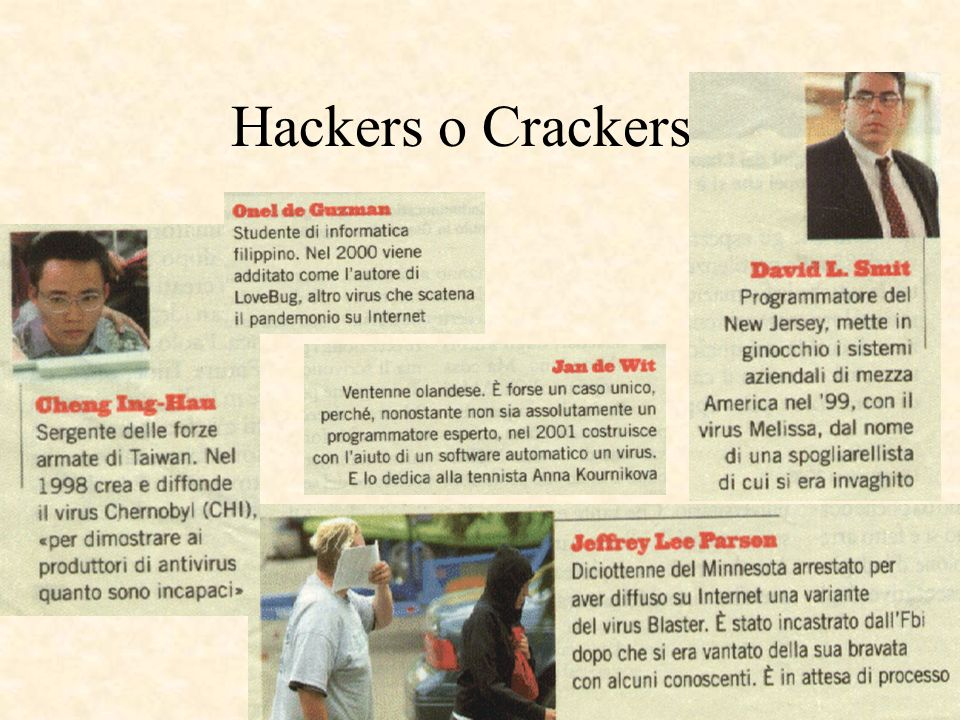 10 Hackers o Crackers ?