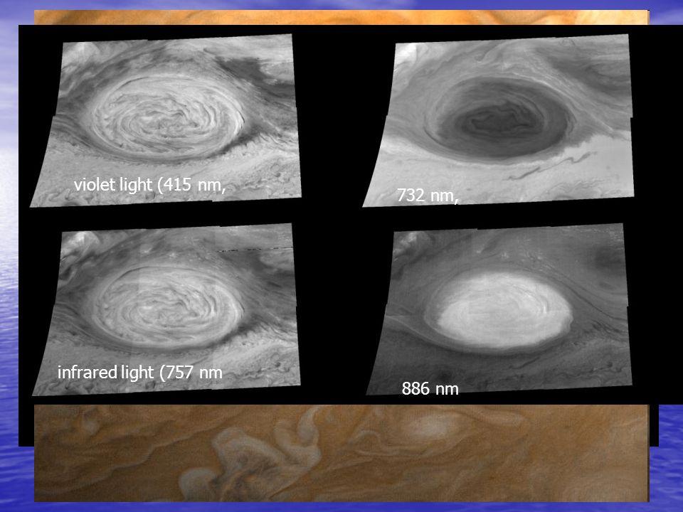 La Grande Macchia Rossa La Grande Macchia Rossa (GMR) viene osservata dalla Terra da più di 300 anni Essa è un ovale con dimensioni di circa 12.000 pe