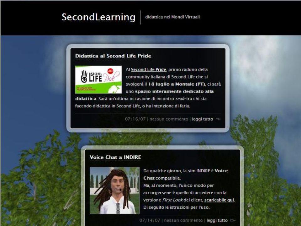 Mondi virtuali Second life