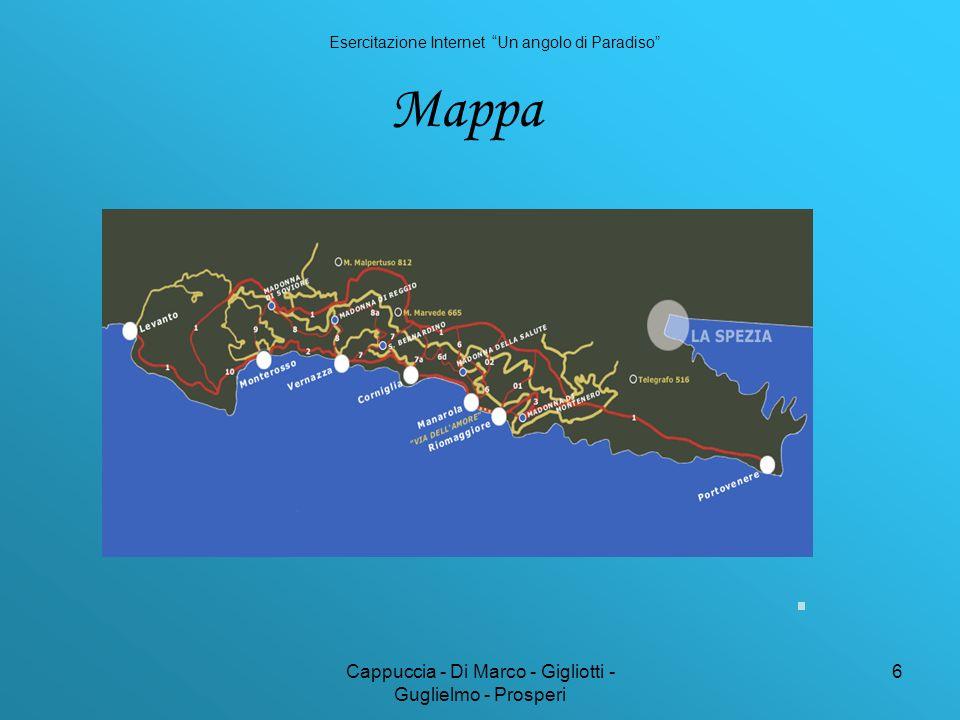 Cappuccia - Di Marco - Gigliotti - Guglielmo - Prosperi 6 Mappa Esercitazione Internet Un angolo di Paradiso