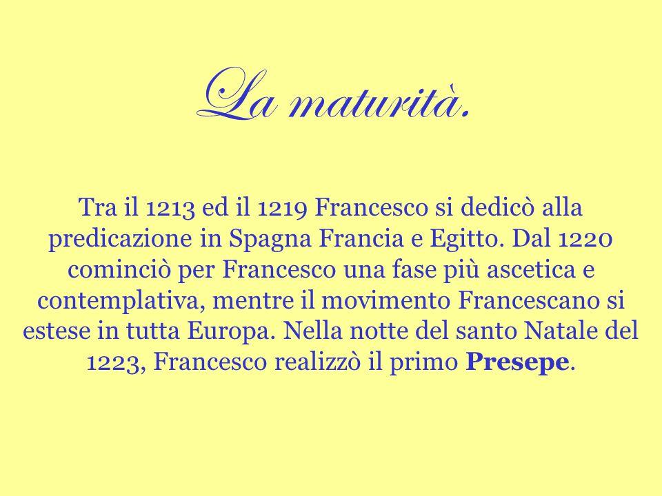 Raccordi interdisciplinari La Regola dellOrdine francescano.