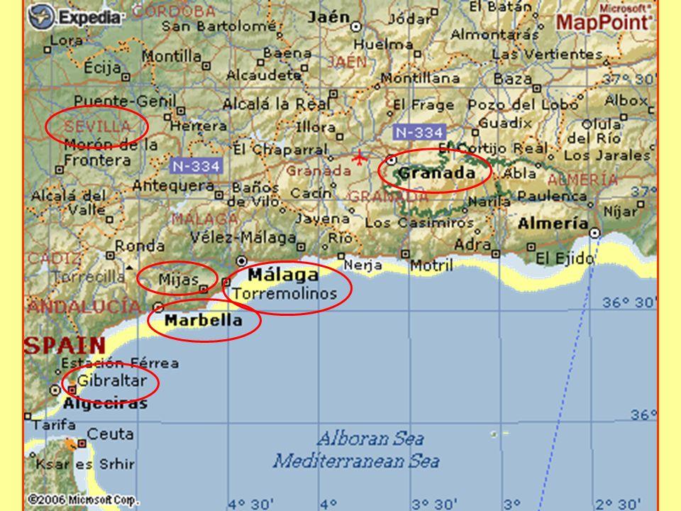 ANDALUSIA L Andalusia è una regione della Spagna meridionale, una delle diciassette Comunità autonome della Spagna.