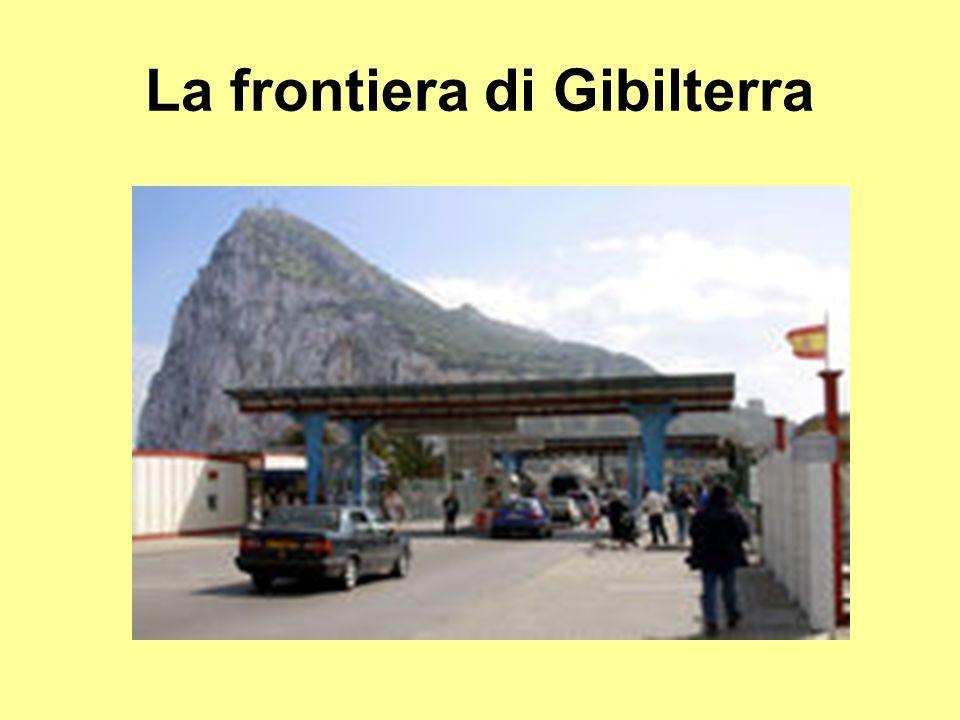 La frontiera di Gibilterra