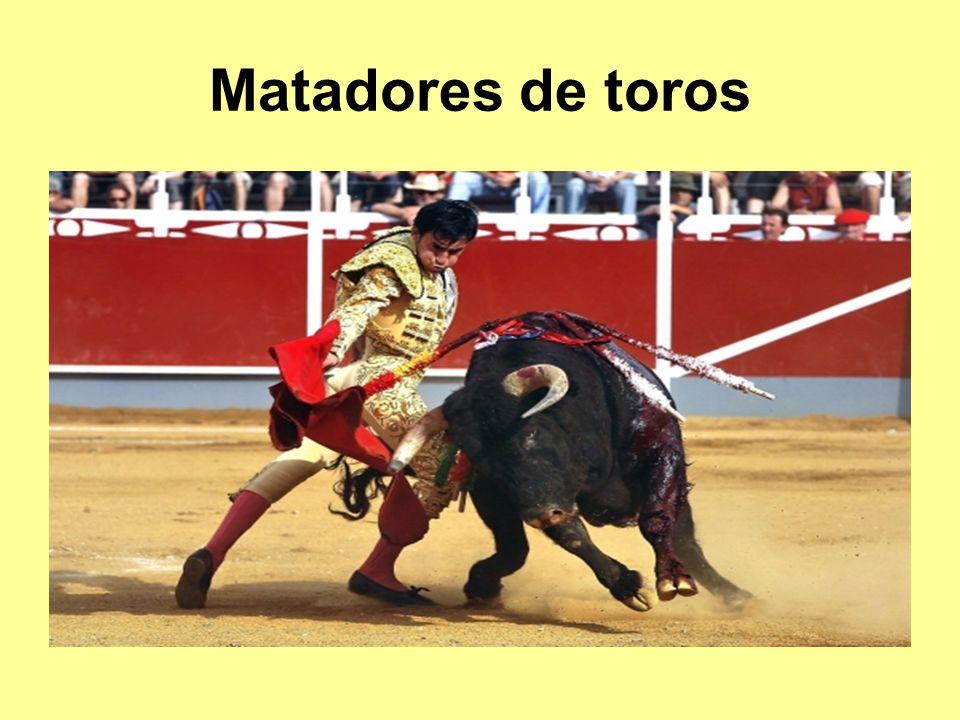 Matadores de toros