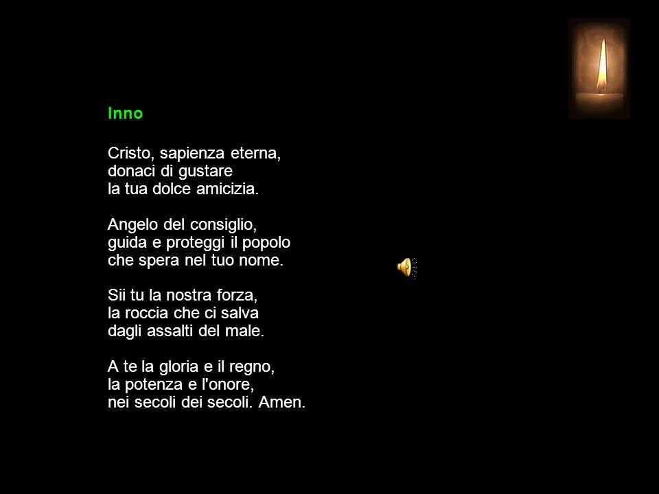 23 OTTOBRE 2013 MERCOLEDÌ - XXIX SETTIMANA DEL TEMPO ORDINARIO UFFICIO DELLE LETTURE INVITATORIO V.