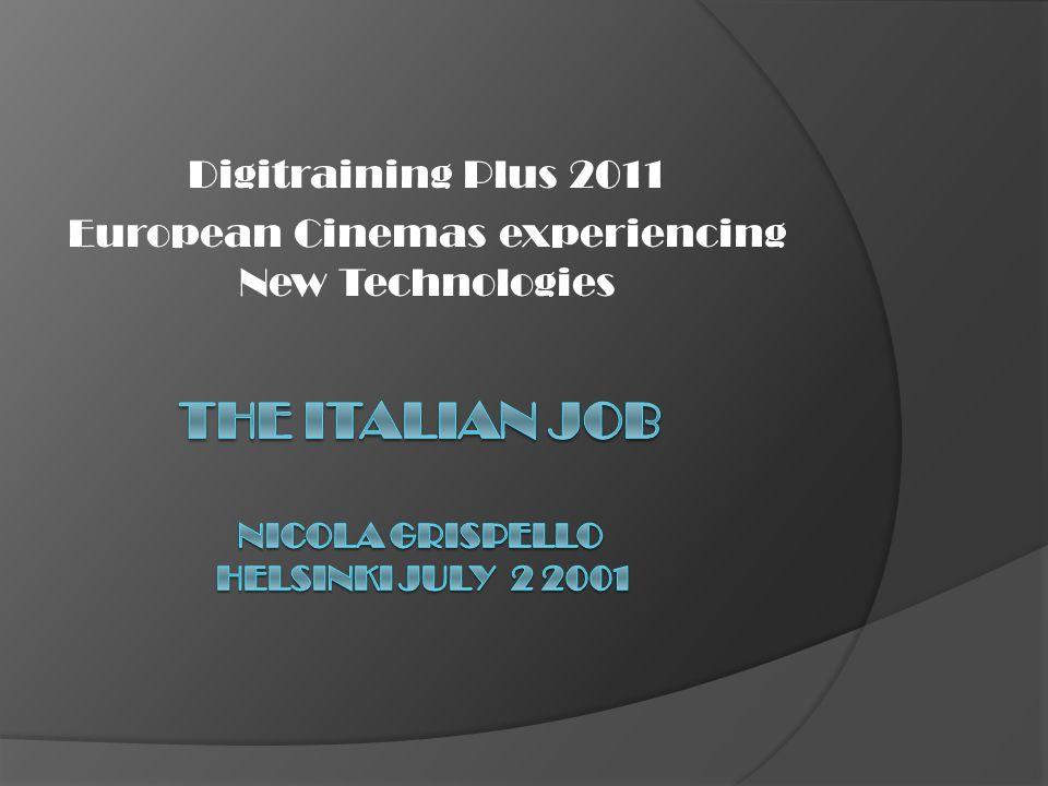 Structure of the presentation Italian data VPF the Italian way Tax credit for the conversion Alternative contente New tecnologies Conclusions