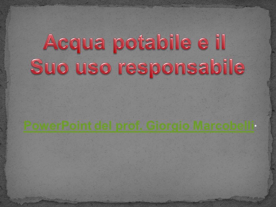 PowerPoint del prof. Giorgio Marcobelli PowerPoint del prof. Giorgio Marcobelli *