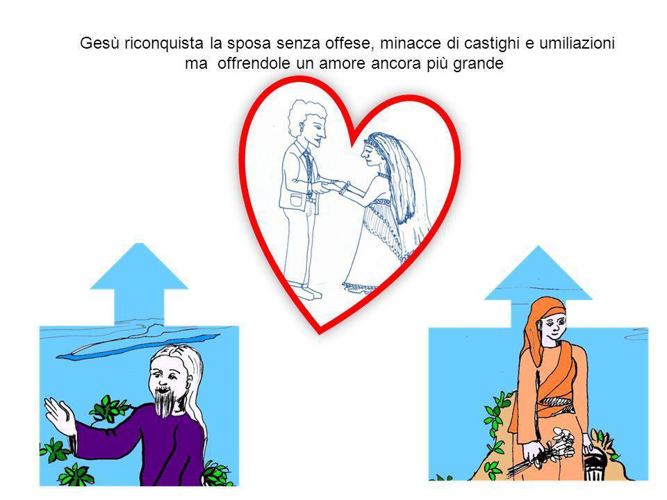 SPOSO ADULTERA Gesù (SPOSO) va a riconquistare la samaritana (SPOSA ADULTERA)