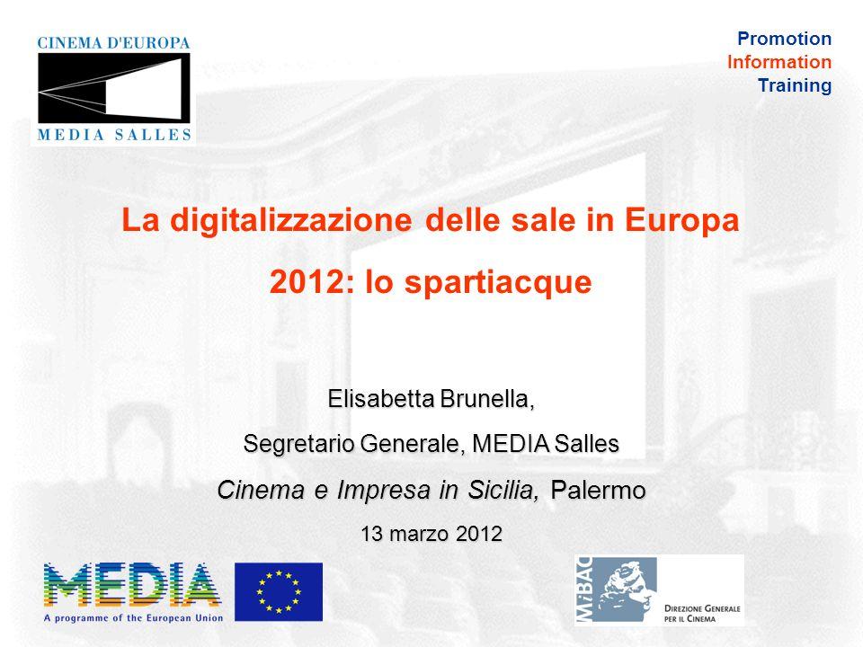 Promotion Information Training Landamento cinematografico in Europa nel 2011: il quadro in 31 paesi dallIrlanda alla Turchia, dalla Russia al Portogallo