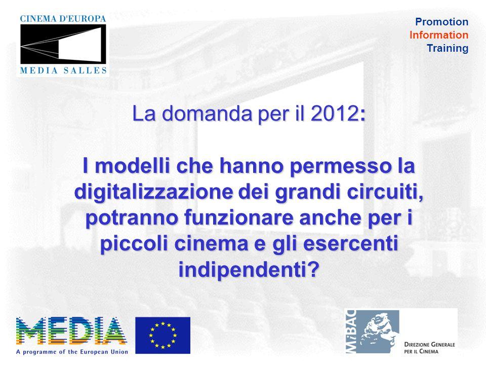 Promotion Information Training La digitalizzazione ha effetti sulle presenze.